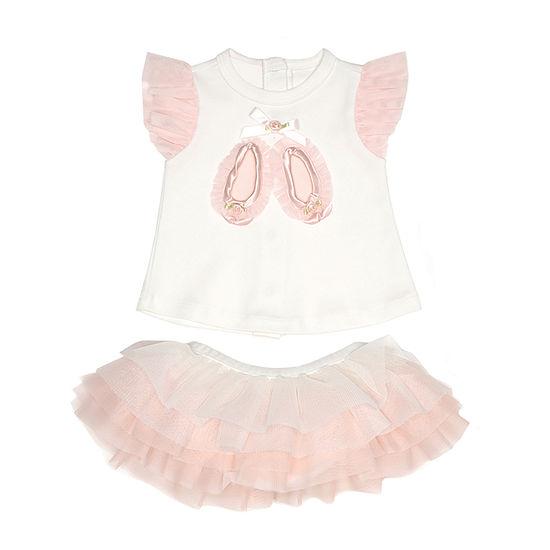 Nanette Baby 2 Pc Skirt Set Baby Girls