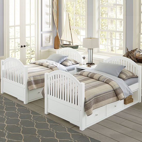 Lake House Adrian Twin Bed With Storage