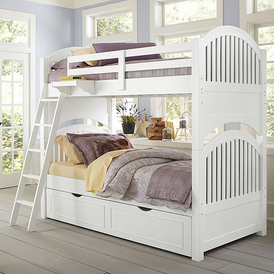 Lake House Adrian Twin Over Twin Bunk with Trundle