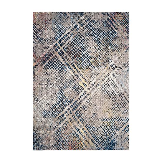 Safavieh Monray Collection Lucetta Geometric RoundArea Rug