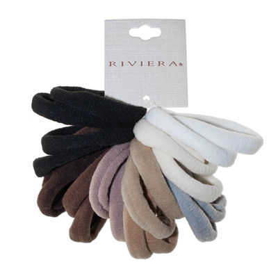 Riviera Stretch Neutral Ponies 20-pc. Hair Ties
