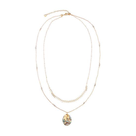 Chaps 2-pc. 30 Inch Necklace Set