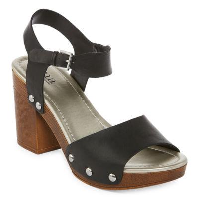 a.n.a Womens Vista Heeled Sandals