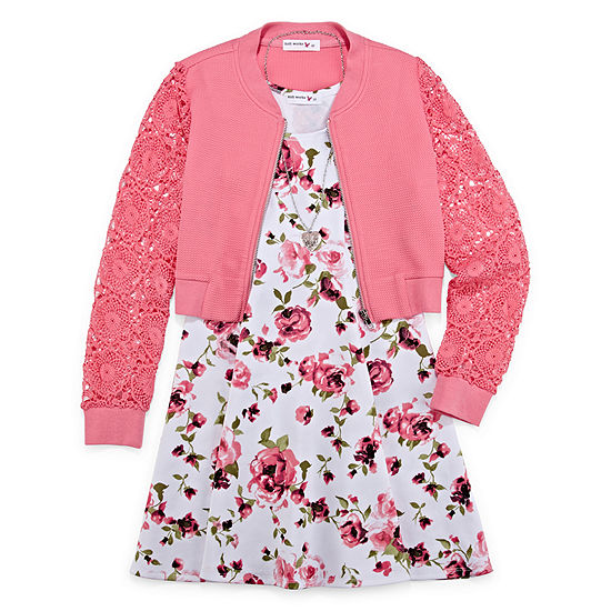 Knit Works 2-pc. Jacket Dress Girls