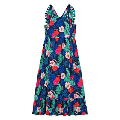 Arizona Sleeveless Floral Maxi Dress - Preschool / Big Kid Girls