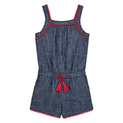 Arizona Sleeveless Romper Preschool / Big Kid Girls