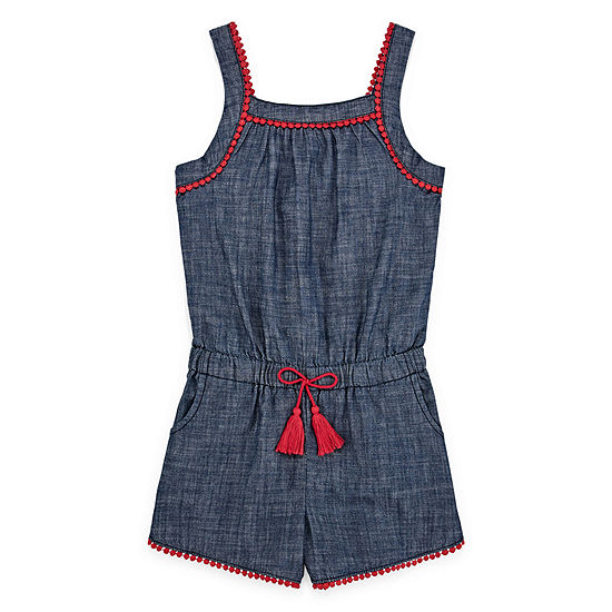 Arizona Sleeveless Romper Preschool / Big Kid Girls