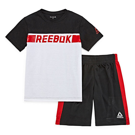Reebok 2-pc. Short Set Boys