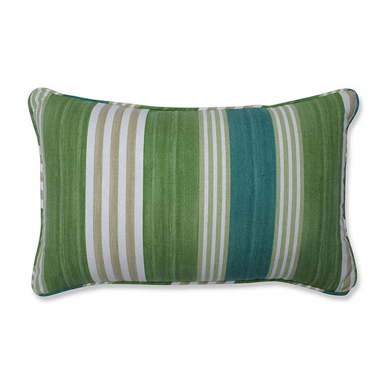 Pillow Perfect On Course Verte Rectangular Throw Pillow