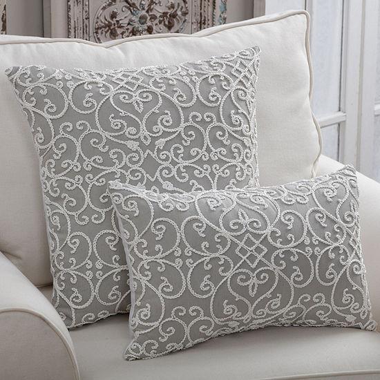 Pillow Perfect Serafina Rectangular Throw Pillow