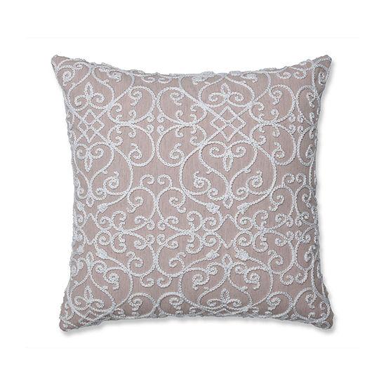 Pillow Perfect Serafina Square Throw Pillow