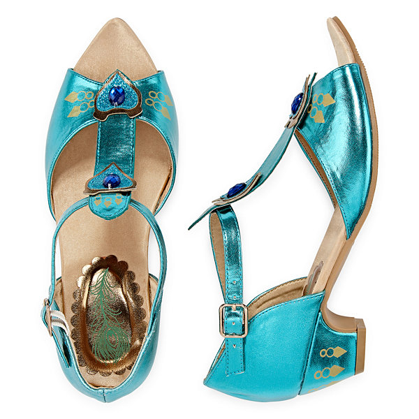 Disney Jasmine Aladdin Dress Up Shoes