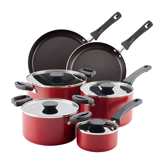 Farberware 10-pc Aluminum Cookware Set