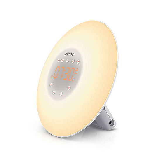 Philips HF3505/60 Sunrise Wake-Up Light with Radio and Touch Screen