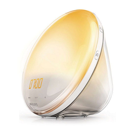 Philips HF3520/60 Wake-Up Light with FM Radio and Sunrise Simulation