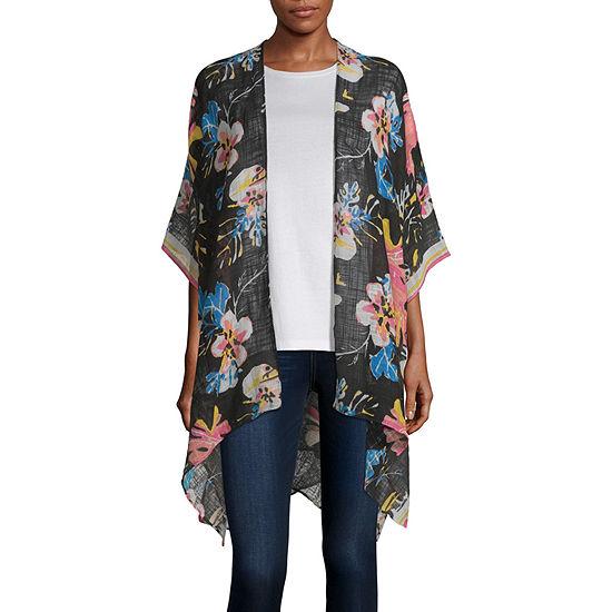 Mixit Tropical Kimono Wrap