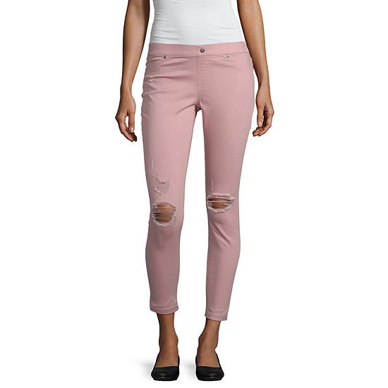 Utopia By Hue Utopia By Hue Womens Mid Rise Skinny Legging
