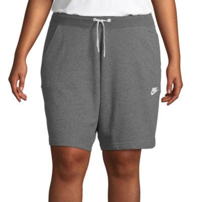 Nike Women's Mid Rise Classic Short - Plus