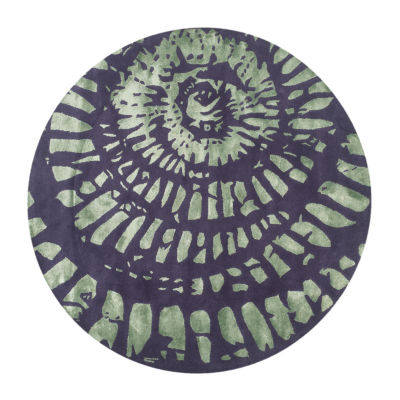 Safavieh Capri Collection Almira Geometric Round Area Rug
