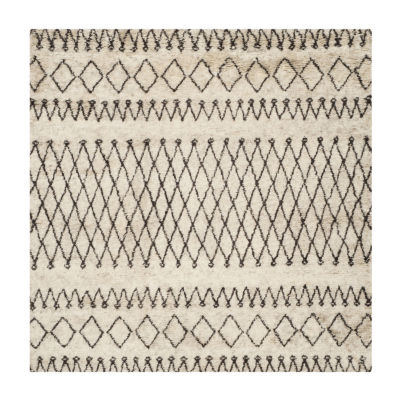 Safavieh Casablanca Collection Stephanie Geometric Square Area Rug
