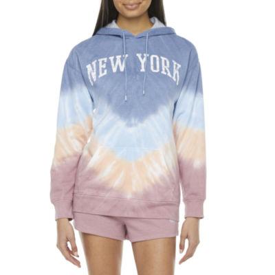 Cut And Paste-Juniors New York Fleece Hoodie