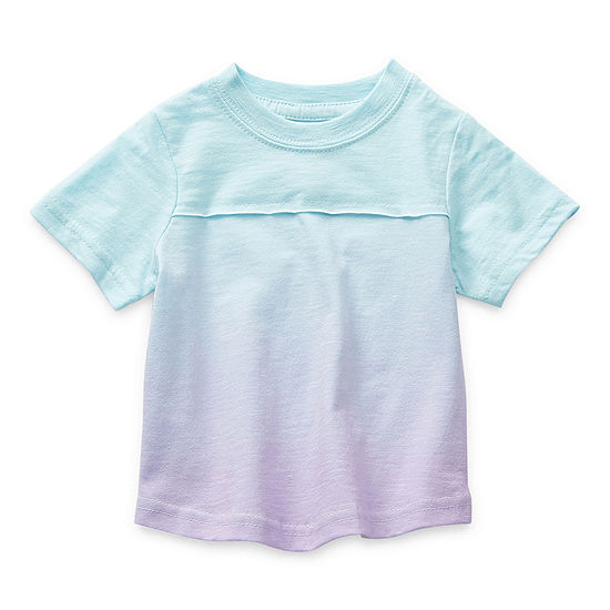 Okie Dokie Baby Boys Round Neck Short Sleeve T-Shirt