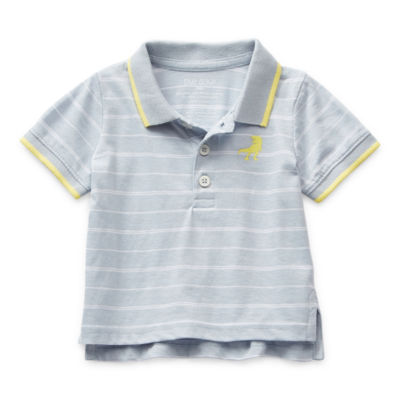 Okie Dokie Baby Boys Short Sleeve Polo Shirt