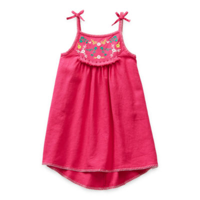 Okie Dokie Toddler Girls Sleeveless A-Line Dress
