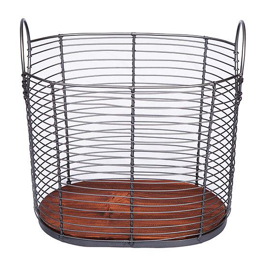 Baum Black Wire Basket