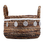 Baum Banana Capiz Decorative Basket