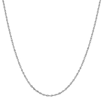 "Infinite Gold™ 14K White Gold 16"" Perfectina Chain Necklace"