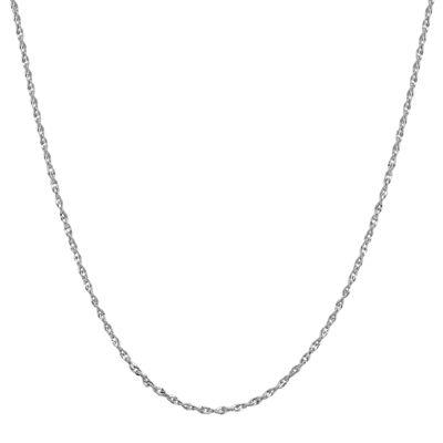 "Infinite Gold™ 14K White Gold 20"" Perfectina Chain Necklace"