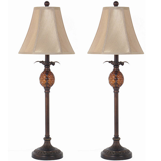 Jcpenney Home Set Of 2 Pinele Buffet Table Lamps