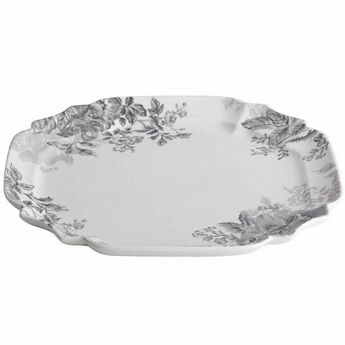 BonJour® Shaded Garden Square Serving Platter