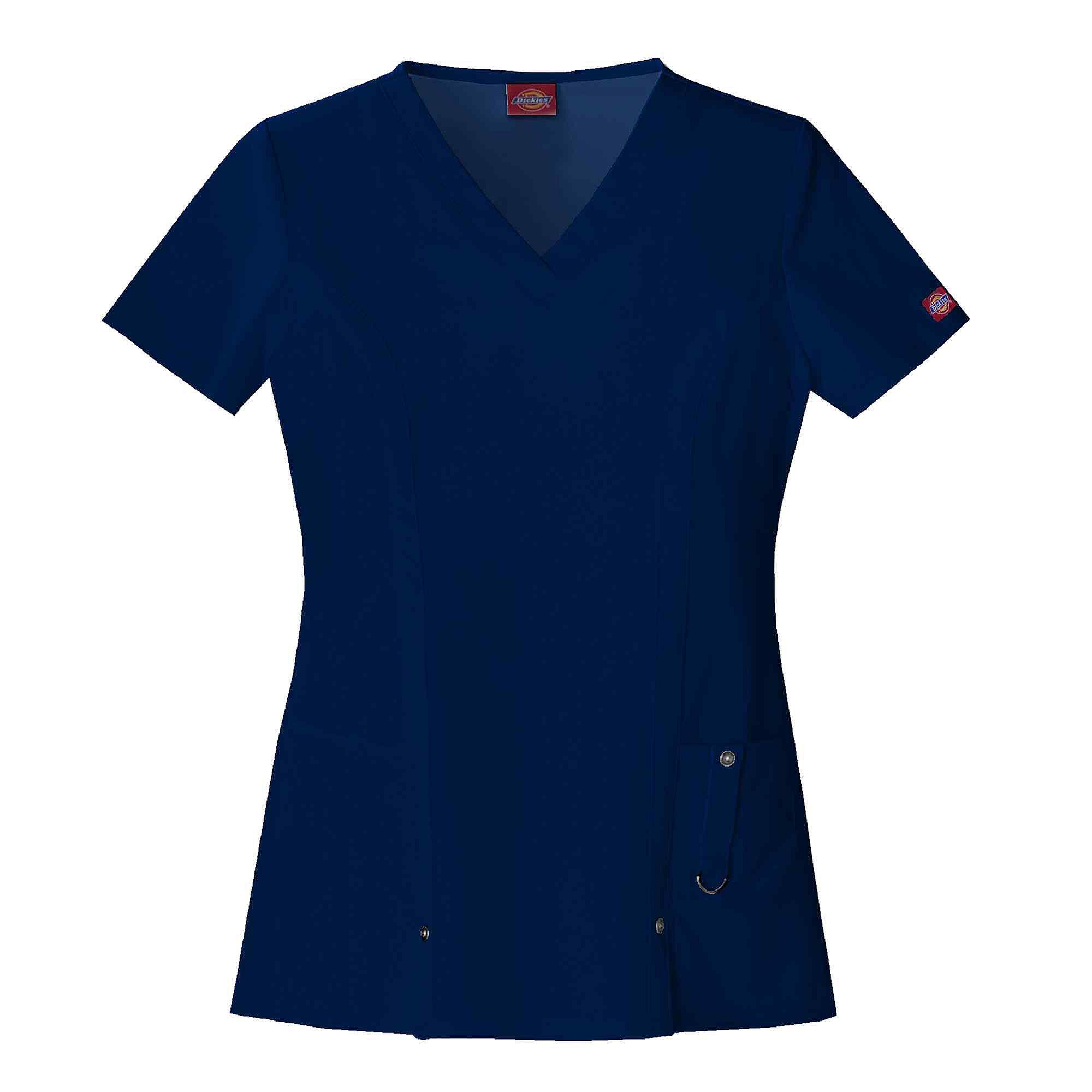 Dickies Womens V-Neck Scrub Top-Plus plus size,  plus size fashion plus size appare
