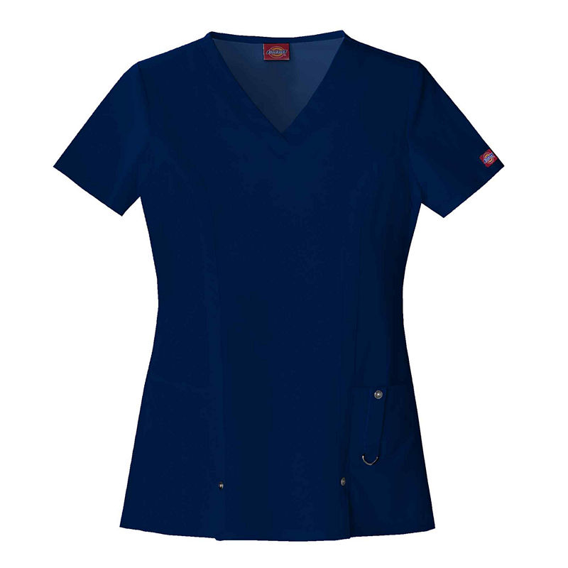 Dickies Womens V-Neck Scrub Top-Plus plus size,  plus size fashion plus size appare
