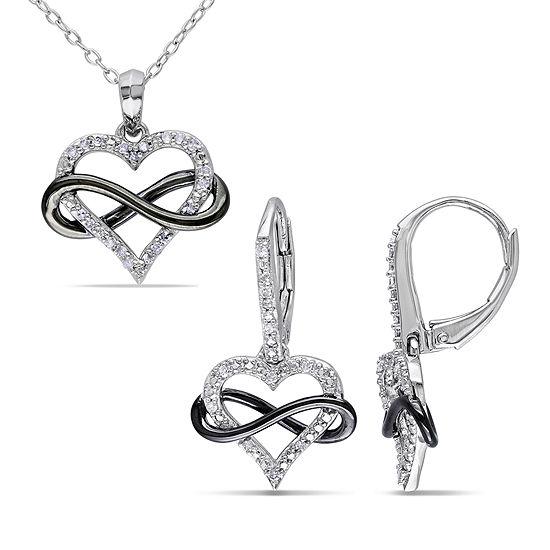 925 Sterling Silver Rhodium-plate Laser-cut Infinity Symbol Pendant
