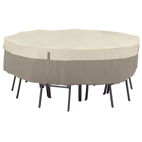 Classic Accessories® Belltown StorageSaver™ Small Round Table & 4-Chair Cover