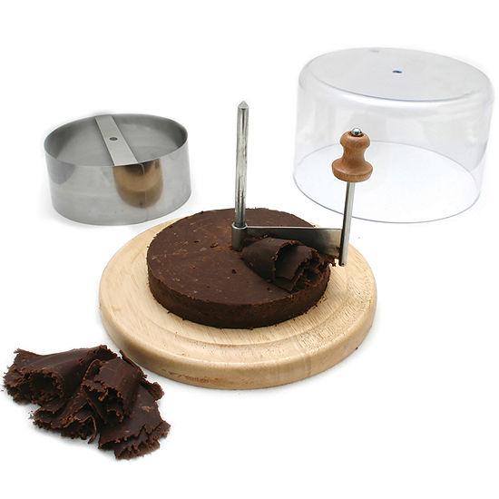 Swissmar Girouette Cheese and Chocolate Scraper Set