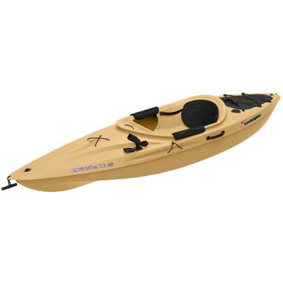 Sun Dolphin Excursion 10 SS Angler Kayak, Paddle Included