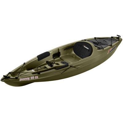 Sun Dolphin Journey 10 SS Angler Kayak, Paddle Included