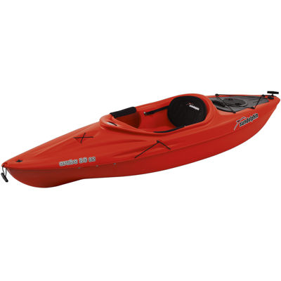 Sun Dolphin Aruba 10 SS Kayak Red, Paddle Included