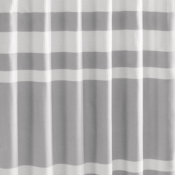 Madison Park Spa Waffle 3M Scotchgard™ Shower Curtain - JCPenney