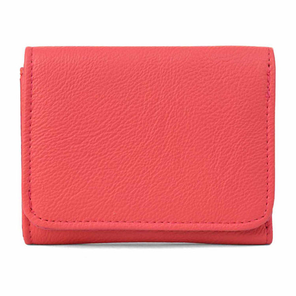 Mundi Anna Mini Trifold Pebble RFID Blocking Tri Fold Wallet