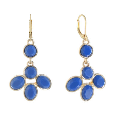 Monet Jewelry Blue Drop Earrings