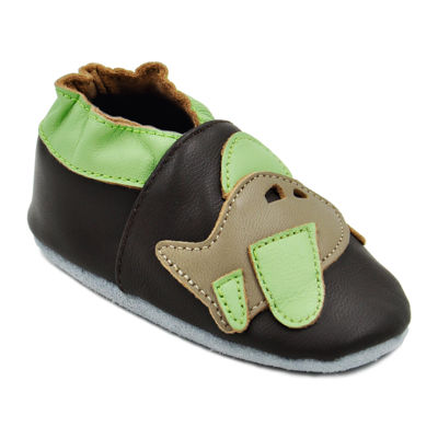 Momo Baby Airplane Boys Crib Shoes-Baby
