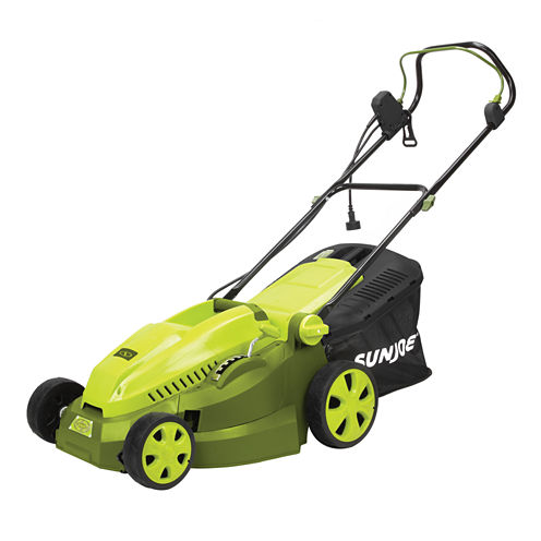 Sun Joe 16-Inch 12-Amp Electric Lawn Mower + Mulcher