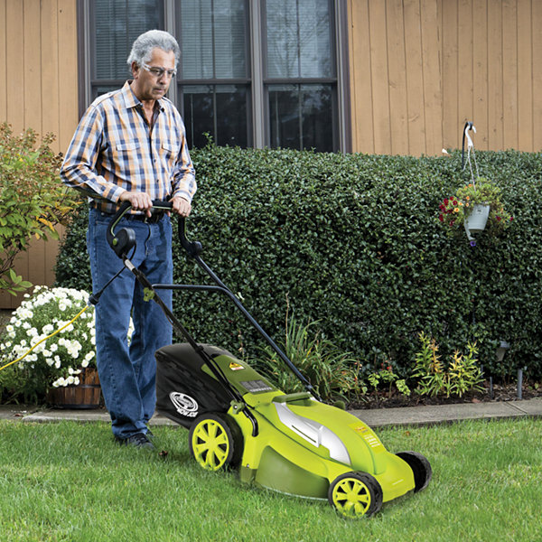 Sun Joe 17-Inch 13-Amp Electric Lawn Mower + Mulcher