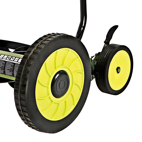 Sun Joe 18-Inch Manual Reel Mower with Grass Catcher