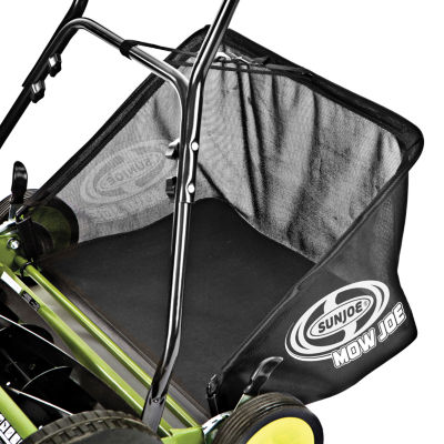 Sun Joe 20-Inch Manual Reel Mower with Grass Catcher